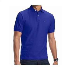 BRAND NEW Tommy Hilfiger men's blue polo